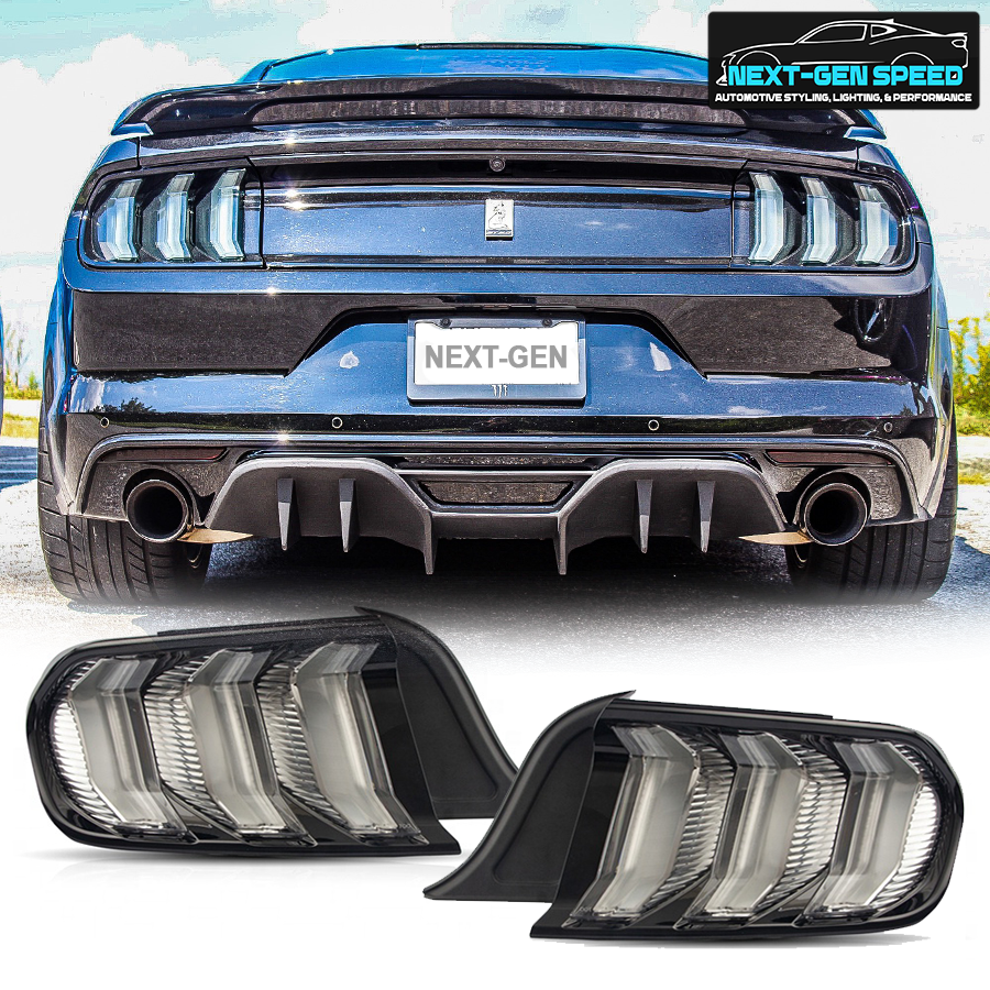 Clear Euro Led Sequential Tail Lights