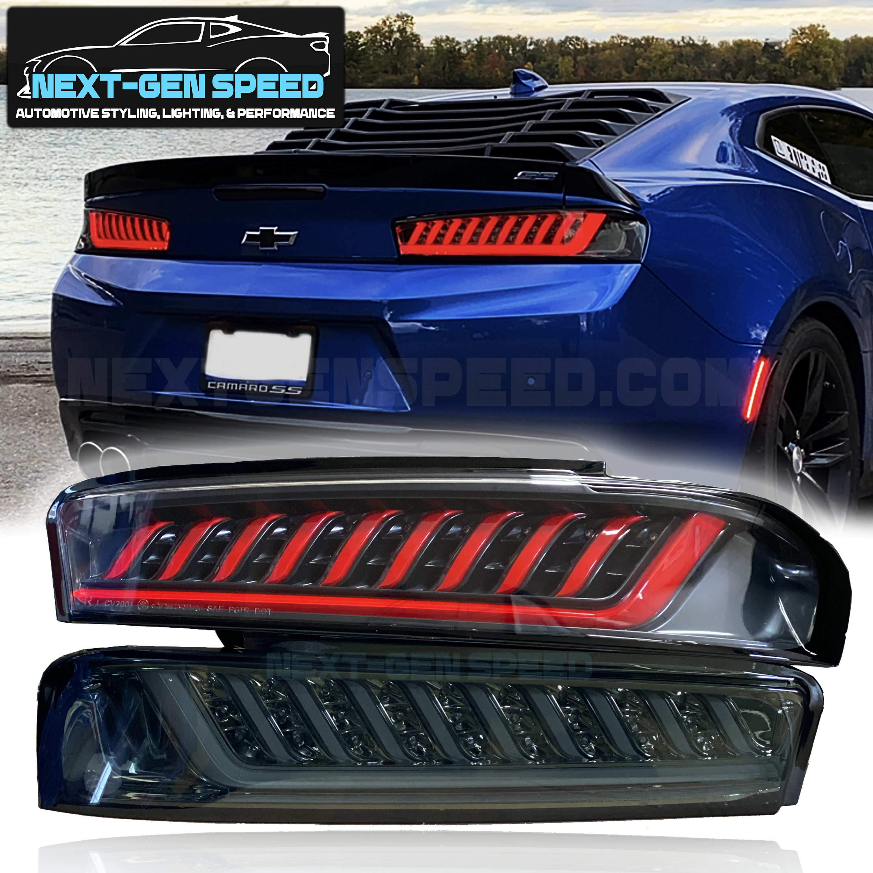 Spec D Smoked Sequential Tail Lights